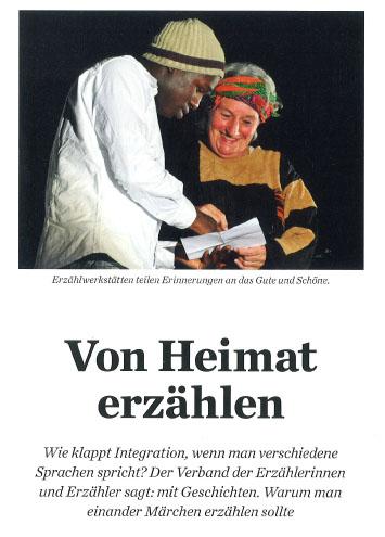 Von Heimat erzählen – Integration durch Geschichten